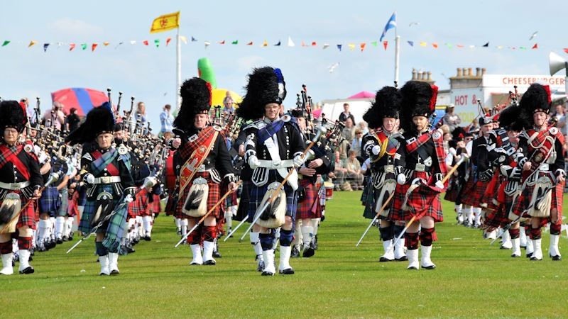 Highland Games in Nairn
