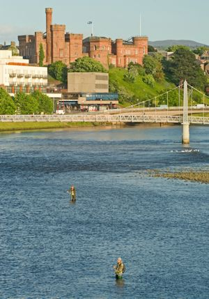 Inverness Castle and River Ness